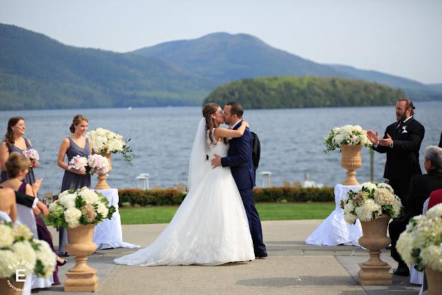 The Sagamore Wedding - Lake George, NY - Flowers - Ceremony Decor
