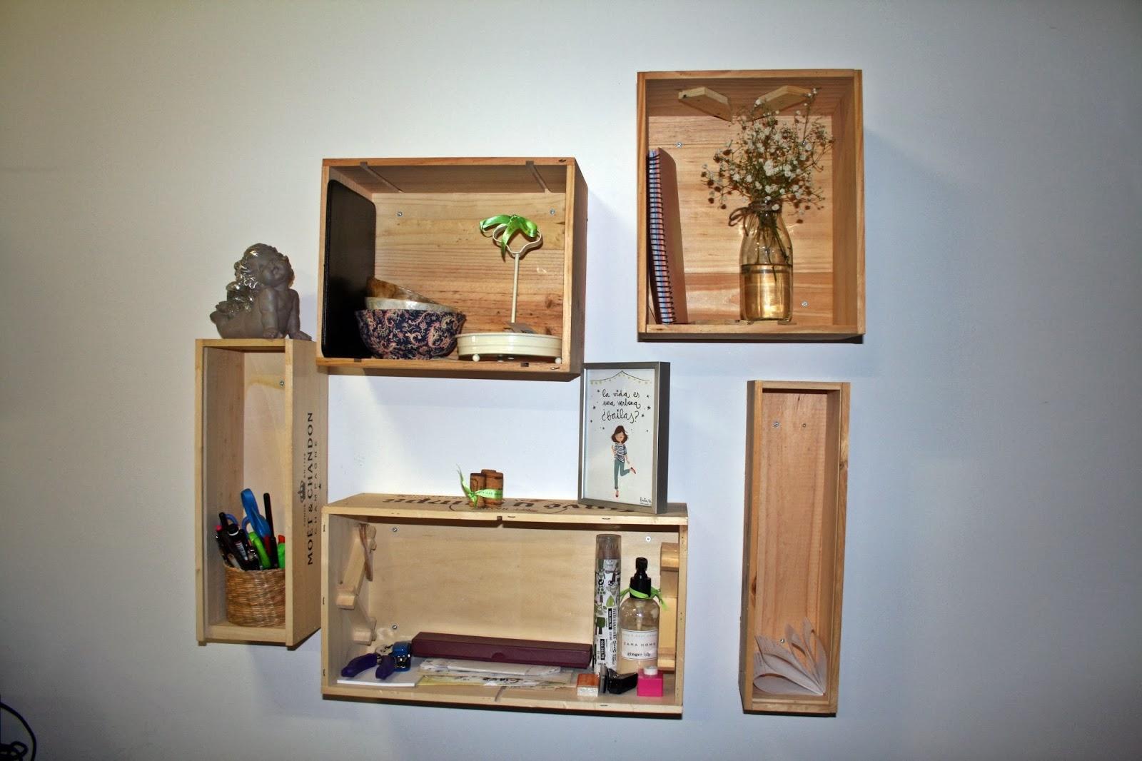 L 39 exquisit gastron mic reutilizar y decorar - Decorar con cajas de vino de madera ...