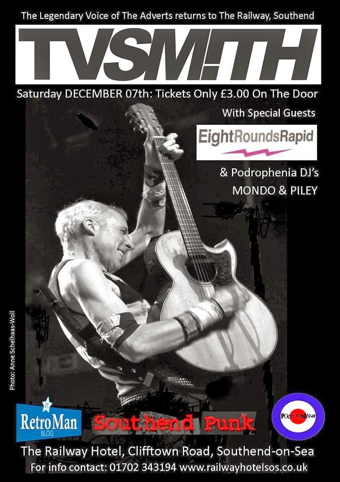 December the 7th - Railway Hotel. Southend...