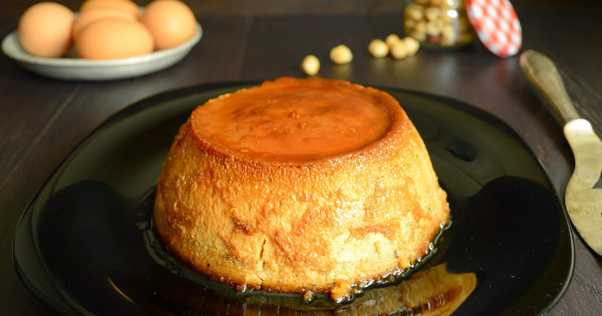 Las recetas de noe flan de avellana for Cocinar con cookeo