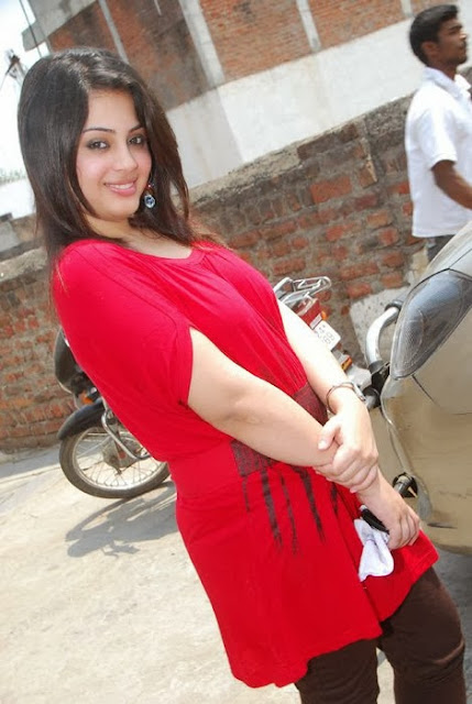 Suhani In Red Dress