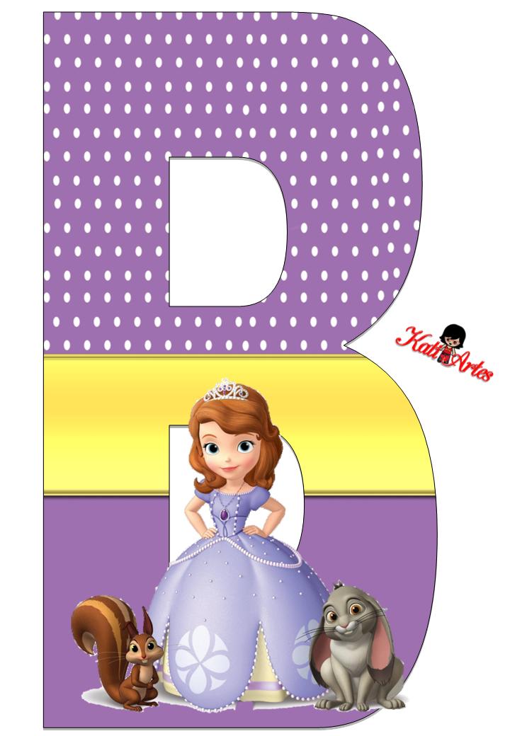 Alfabeto De Princesa Sofa Con Fondo De Puntos Blancos
