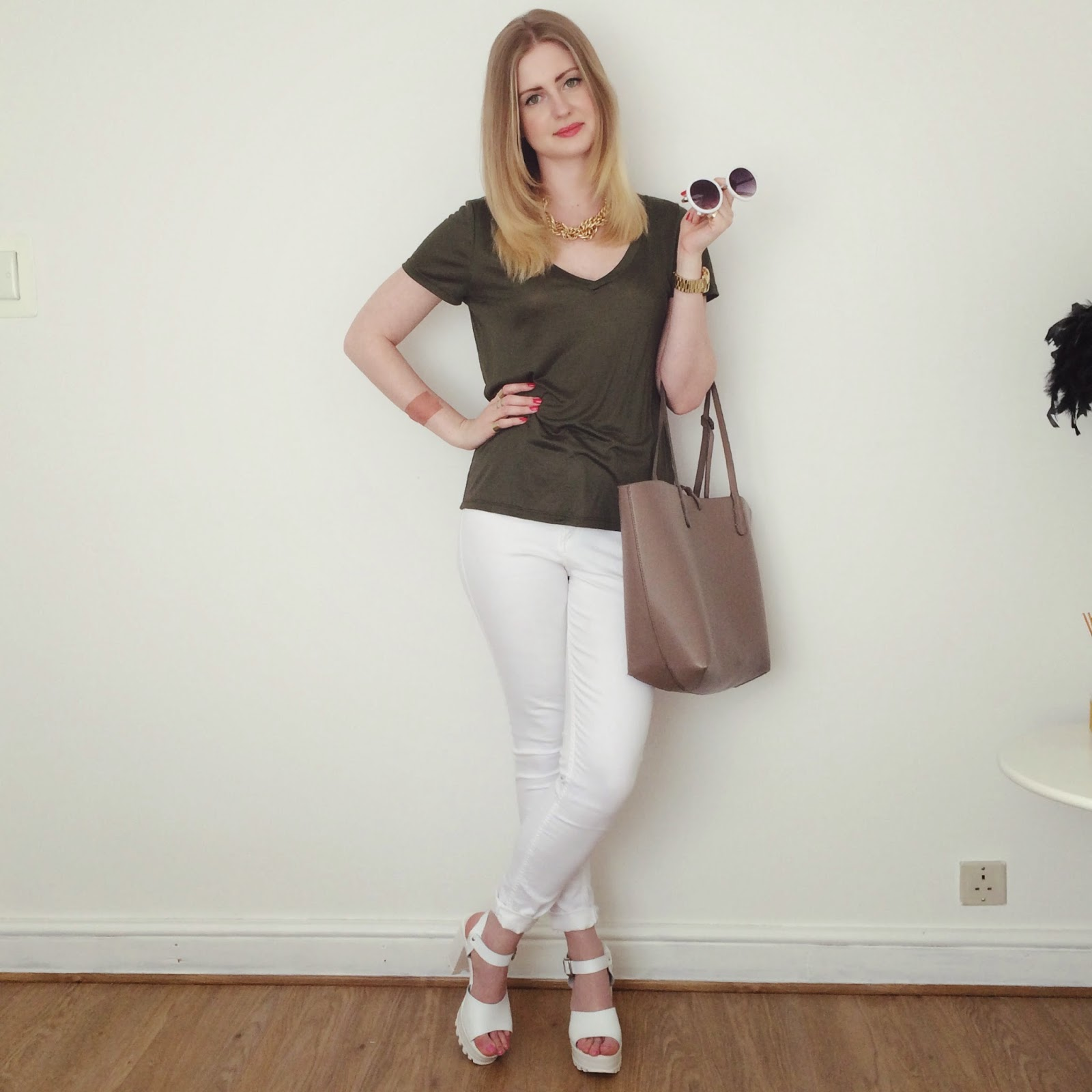 Fashion bloggers, how to style khaki, Spring Summer 2015 trends