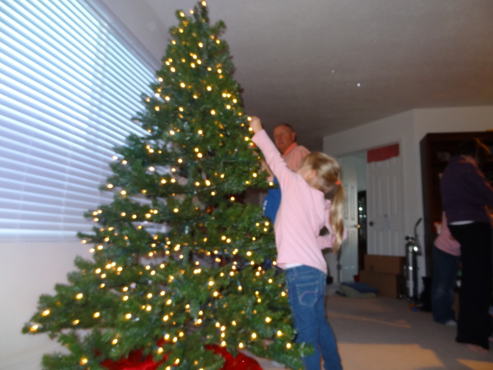 Welcome To The Krazy Kingdom Putting Up The Christmas Tree