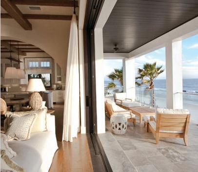 Fotos de terrazas terrazas y jardines terrazas de casas for Pisos para porches de casas
