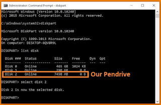 Creating Bootable Pendrive By Cmd Command Prompt 3