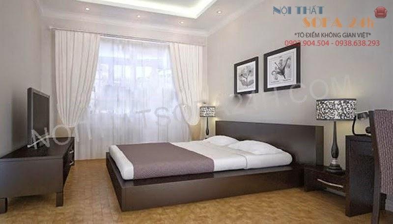Giường ngủ GN088
