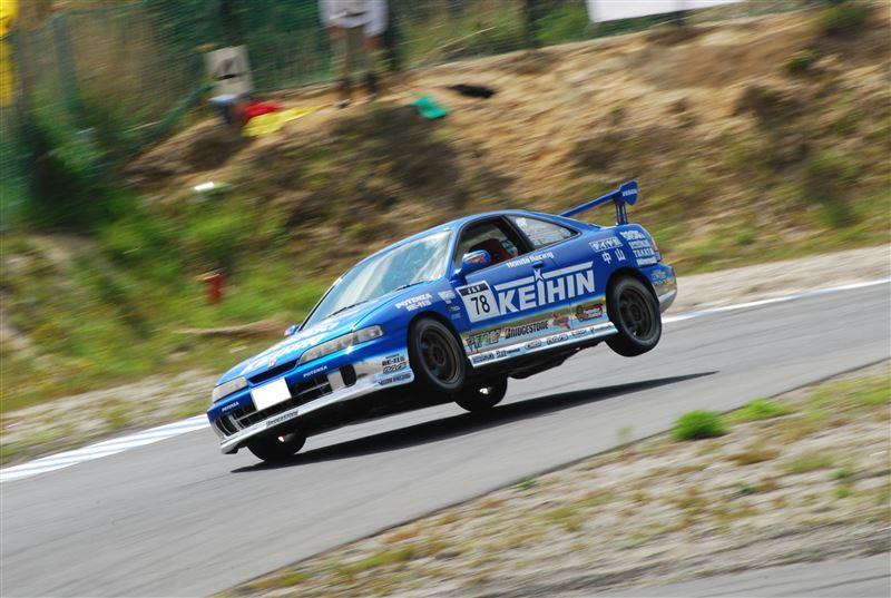 Honda Integra III DC2, japoński sportowy samochód, coupe, wyścigi, JDM, tor wyścigowy