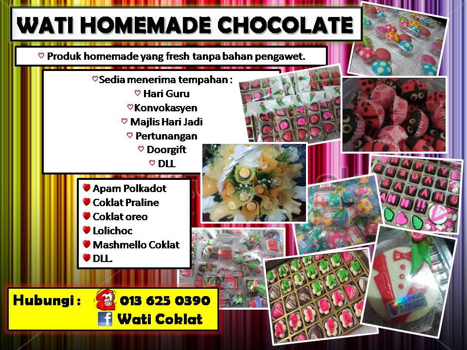 WATI HOMEMADE CHOCOLATE