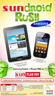 Samsung Galaxy Tab 2 7.0 and Galaxy Y Sundroid