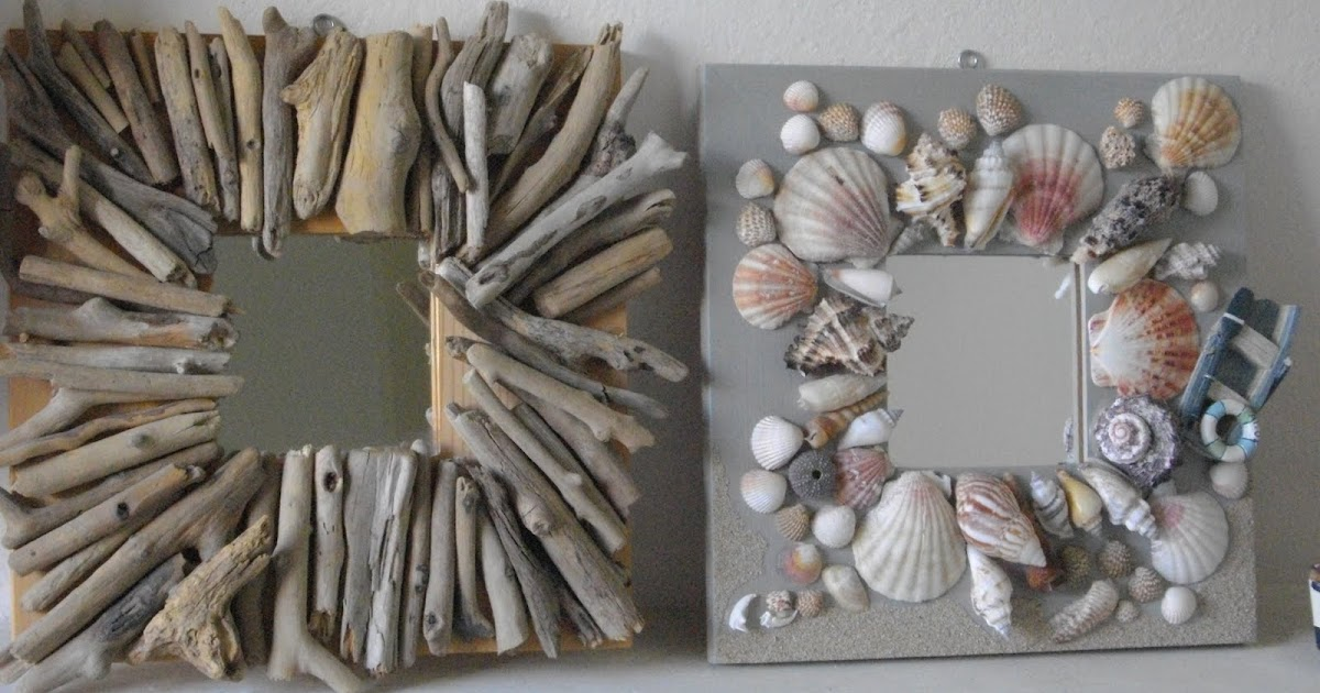 In pigiama le cornici del mare frames from the sea for Idee quadri fai da te