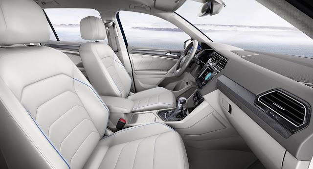 Nova VW Tiguan 2017 - interior