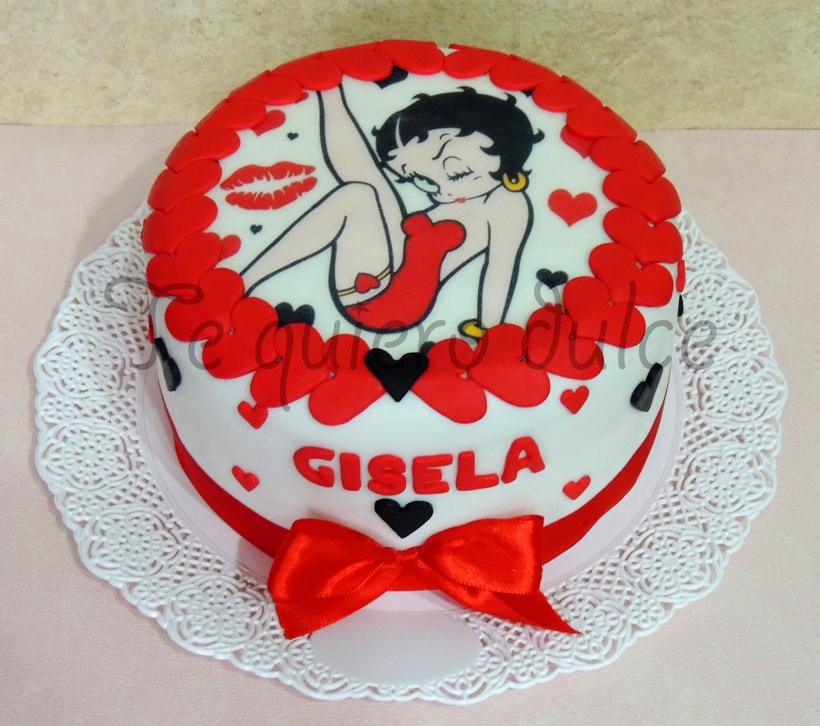 TE QUIERO DULCE♥: Torta de Betty Boop