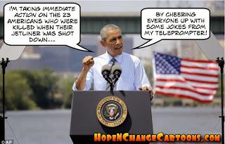 obama, obama jokes, political, cartoon, malaysia, jet, missile, ukraine, stilton jarlsberg, hope n' change, hope and change, fort hood, jack lew, biden