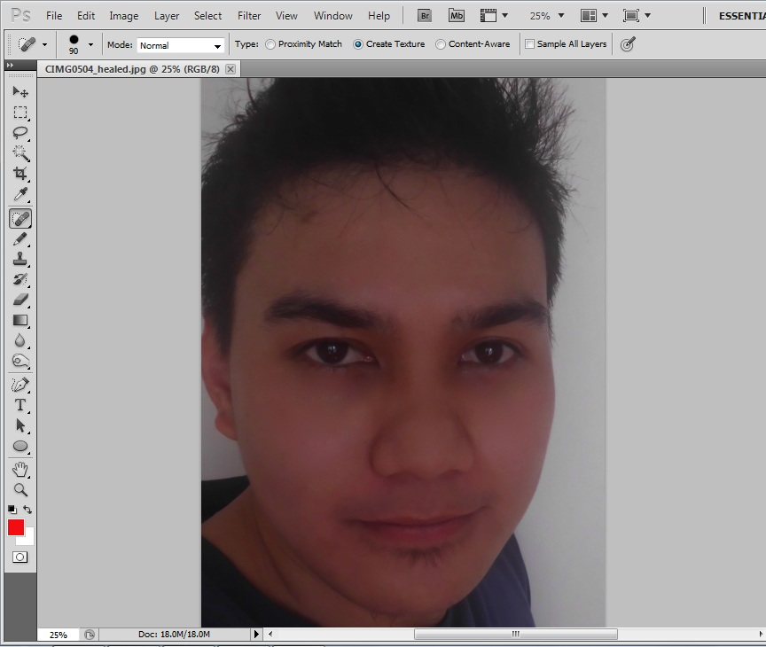How to Remove Dark Spots on Face Using Adobe Photoshop (CS5)