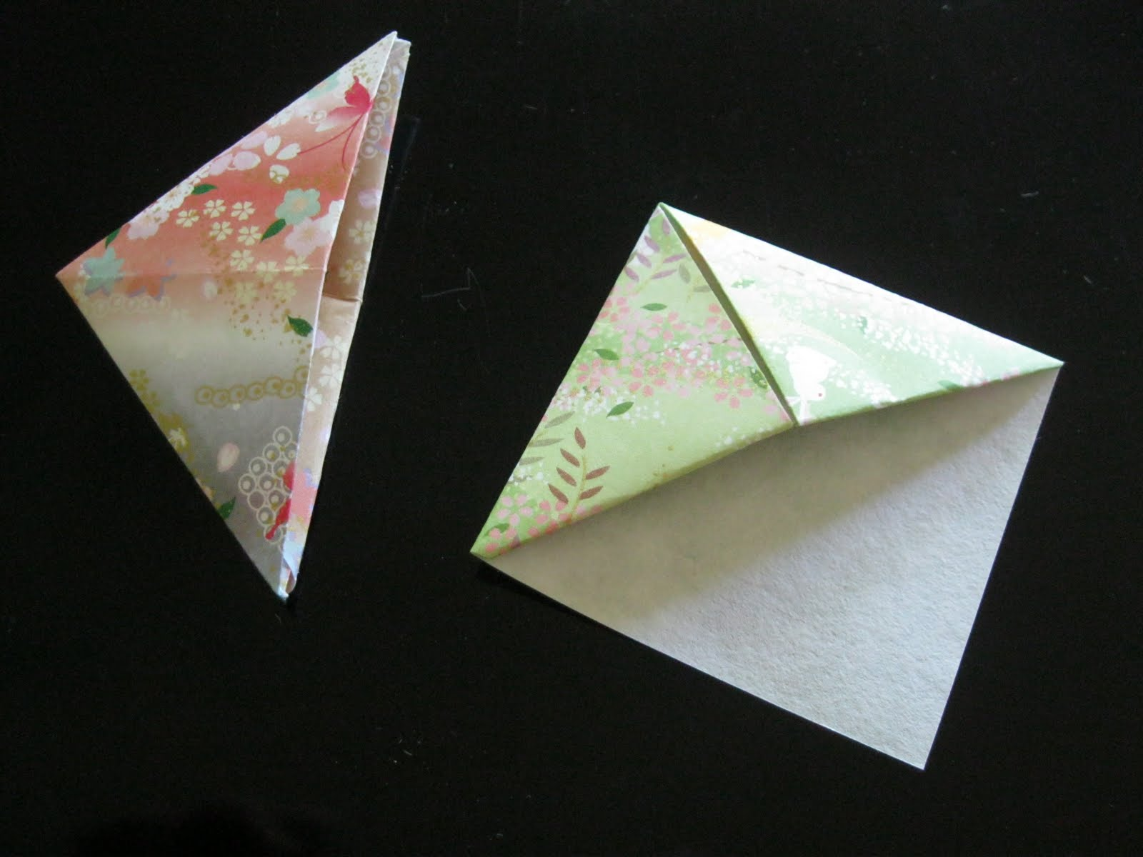how to fold two simple origami bookmarks dolce bellezza