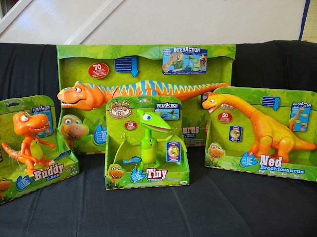 Dinosaur Train interaction Toys, TOMY toys, dinosaur toys