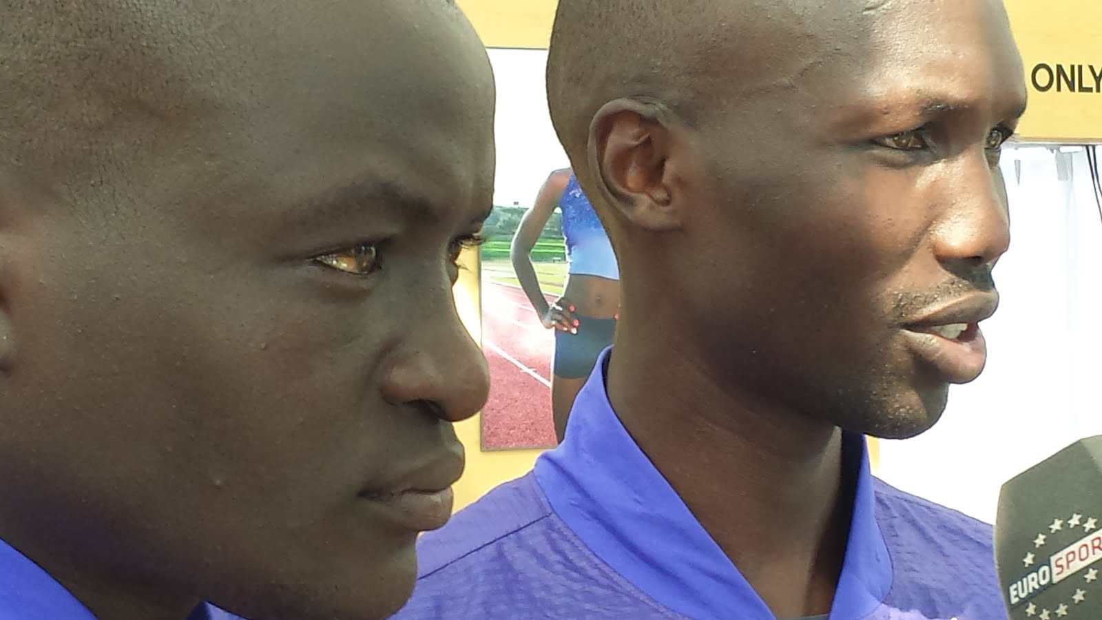 Dennis Kimetto and Wilson Kipsang