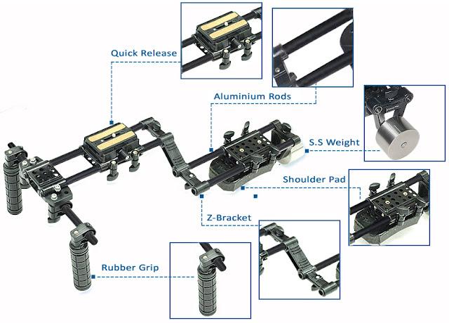 Filmcity Shoulder Rig  FC-10