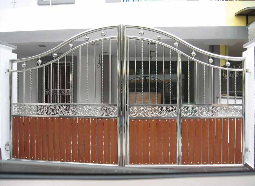 Design yourself main gate design catalog for Modern main gate designs
