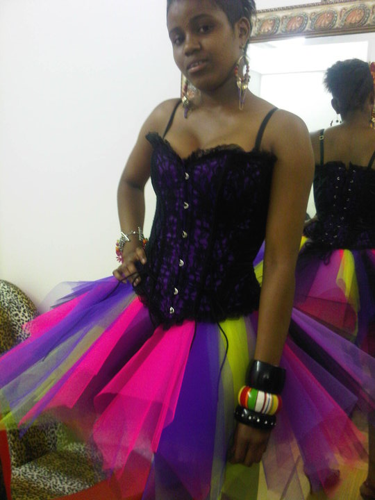 CELEBRITY STYLE STALKER: My big fat gypsy prom dress