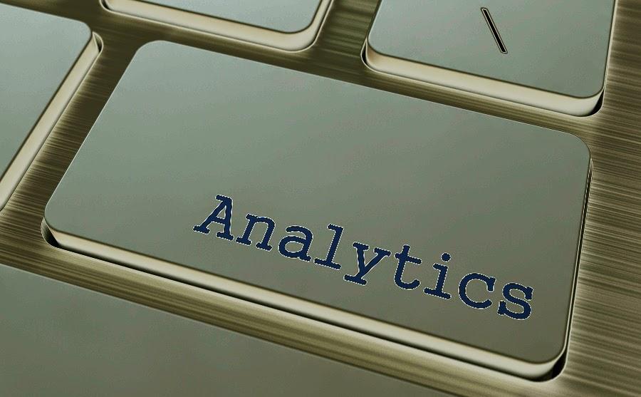 Słowa kluczowe, Google analytics