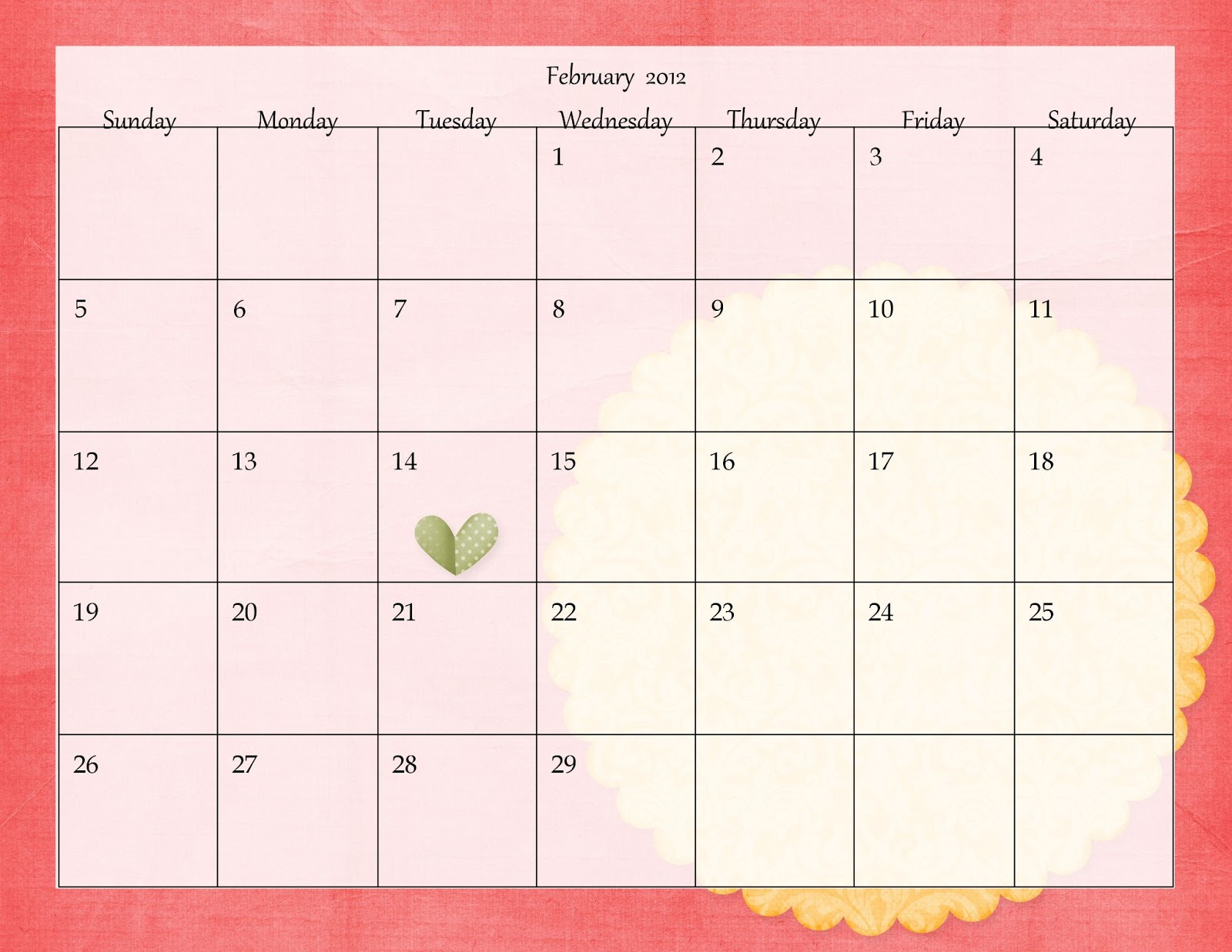Photo calendars make your own photo calendars custom html for Create my own calendar template