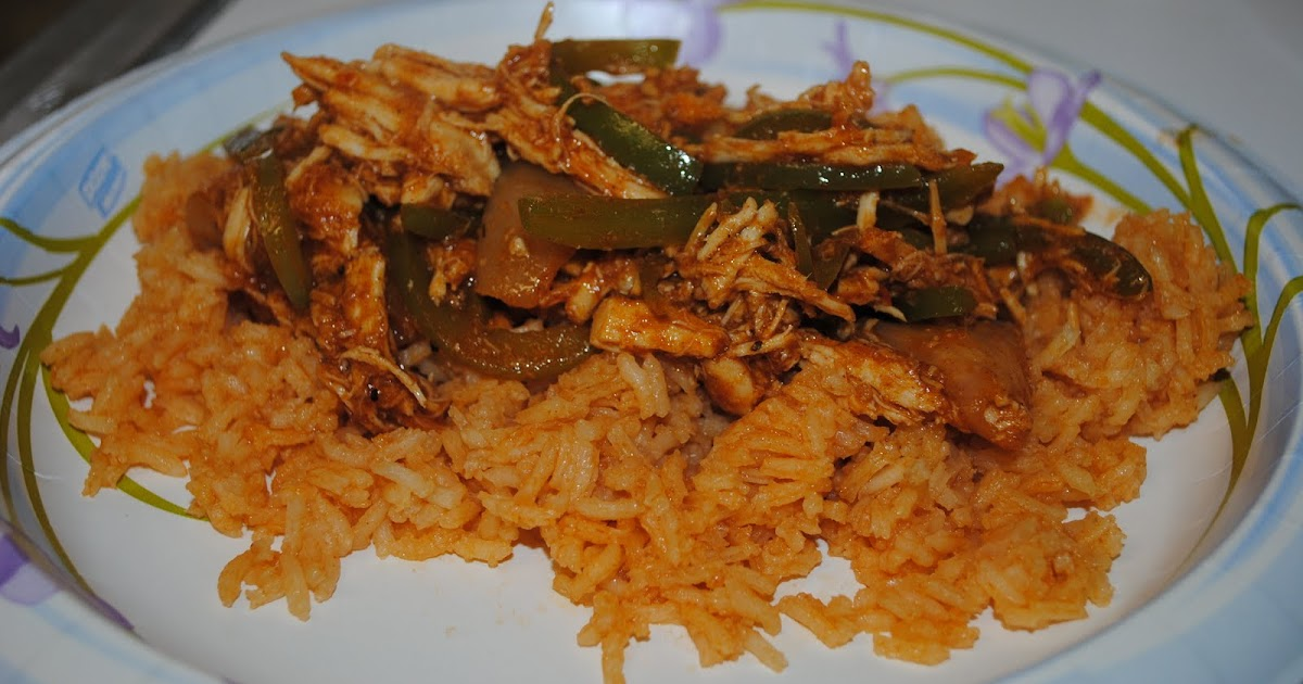 Durfee Family Recipes: Chicken Ropa Vieja