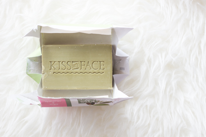 kiss my face olive chamomile soap bar review