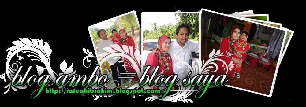 Blog Ambo = Blog Saya