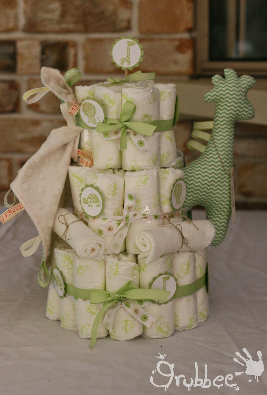 nappy cake grubbee