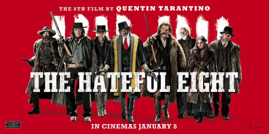 Hateful Eight movie poster
