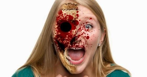 Efek Muka Seram Di Photoshop | Tutor Graphic