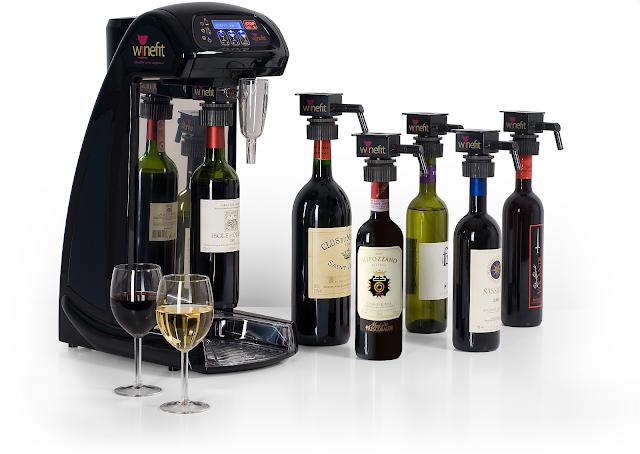 Divulgação: Lançamento Winefit - Uma Máquina Inovadora para servir Vinho a Copo - reservarecomendada.blogspot.pt