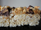 Reese's Peanut Butter Cup Rice Krispie Treats