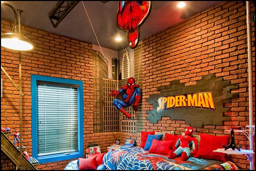 decorating theme bedrooms - maries manor: spiderman bedroom