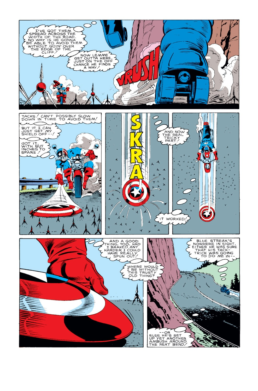 Captain America (1968) Issue #318 #246 - English 21