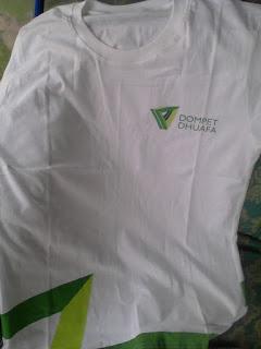 merchandise kaos dompet dhuafa