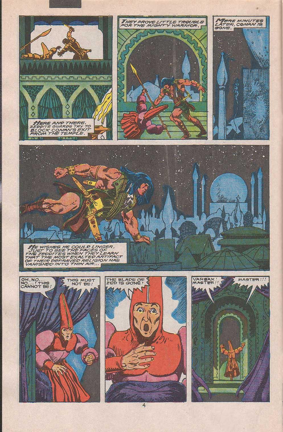 Conan the Barbarian (1970) Issue #216 #228 - English 5