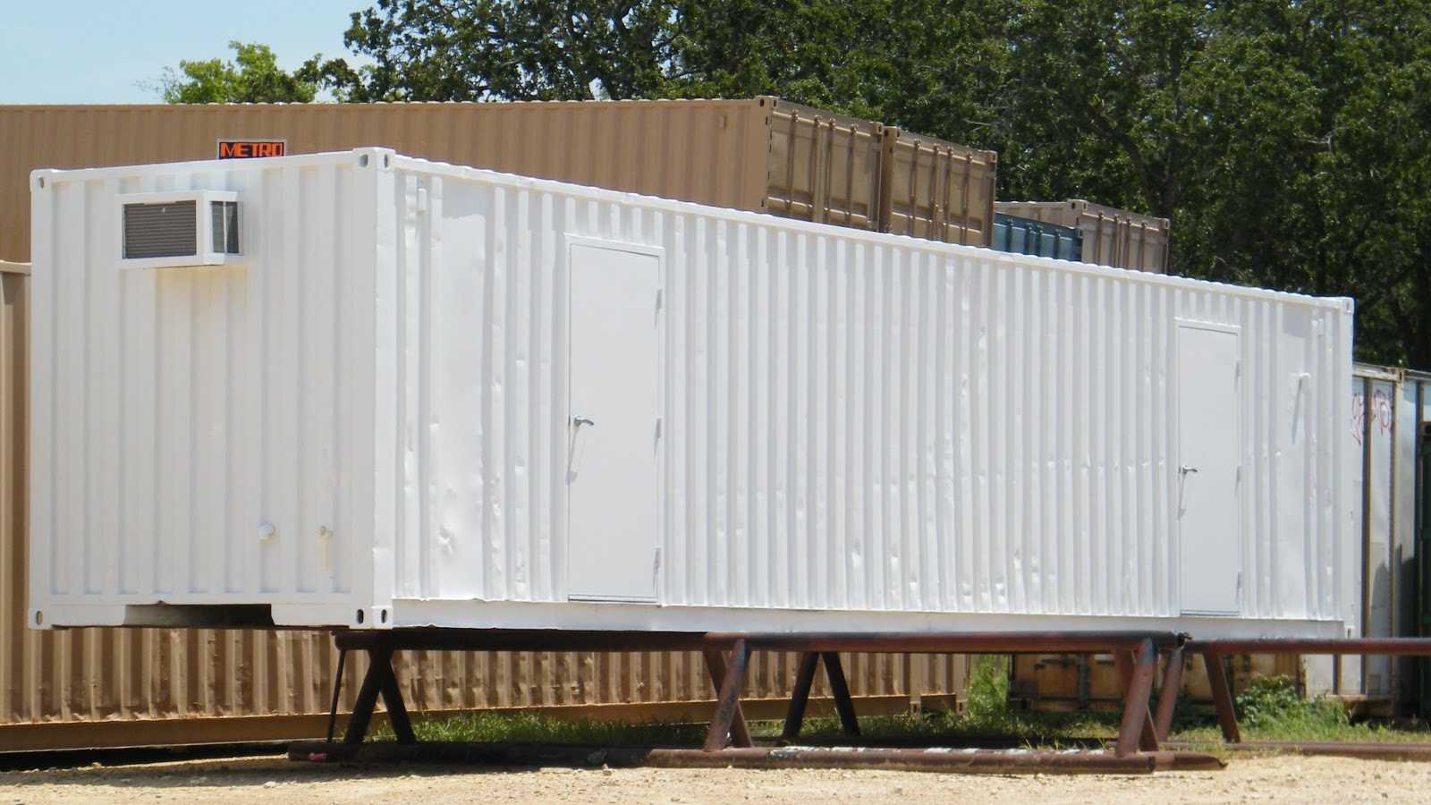 Texas container homes jesse c smith jr consultant more from metro container 39 s brenham texas - Container homes texas ...