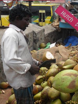 Разделка кокоса