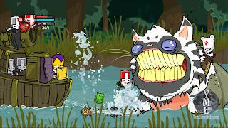 Castle Crashers Gameplay Screenshot catfish