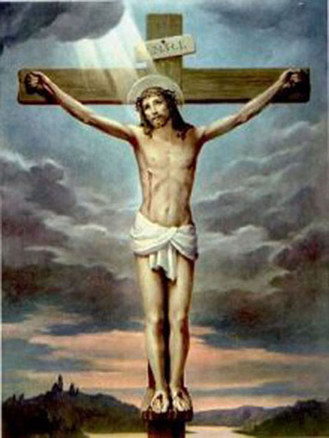 gesu crocifisso2 Venerdì Santo   Passione del Signore. Testi Via Crucis del Papa al Colosseo 6 aprile 2012