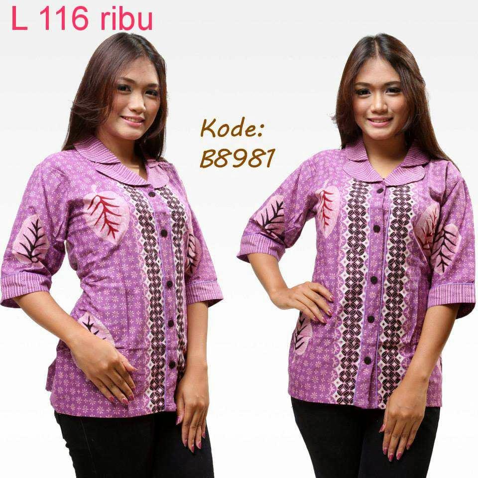 Lihat Model Baju Batik Ini Model Baju Batik
