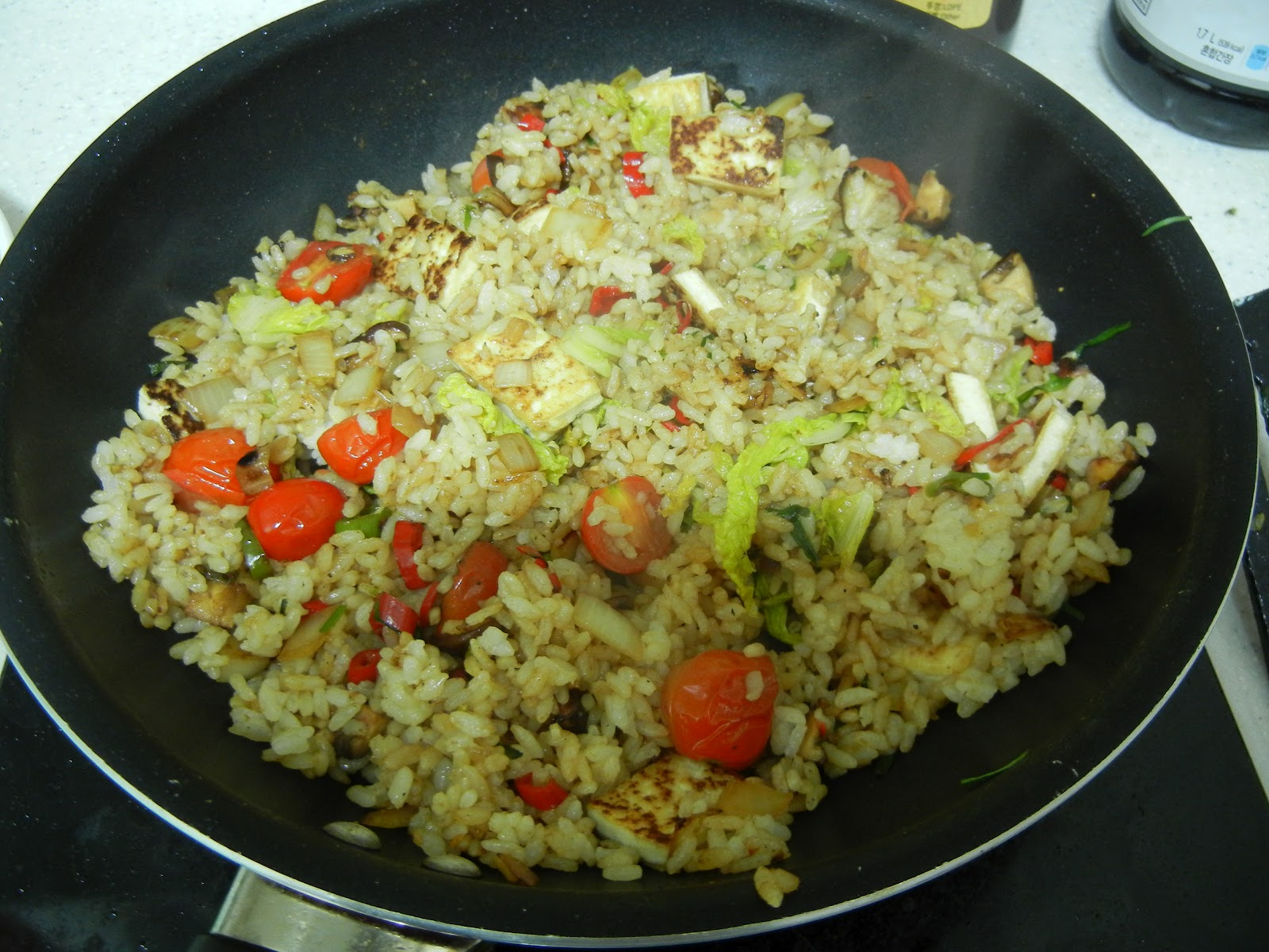 Oven Lovin': Vegetable Fried Rice