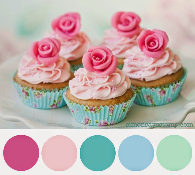 Simon Says Stamp Wednesday Challenge: Sweet Treats Color Inspiration