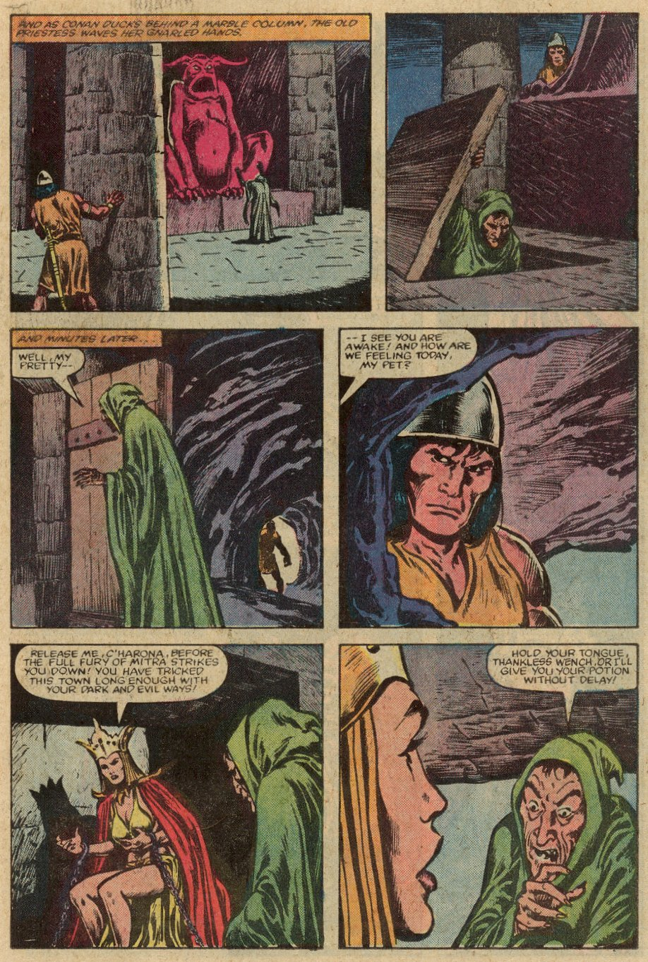 Conan the Barbarian (1970) Issue #147 #159 - English 16