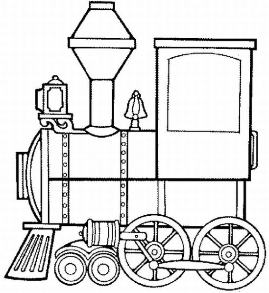 Trains Coloring Pages | Learn To Coloring