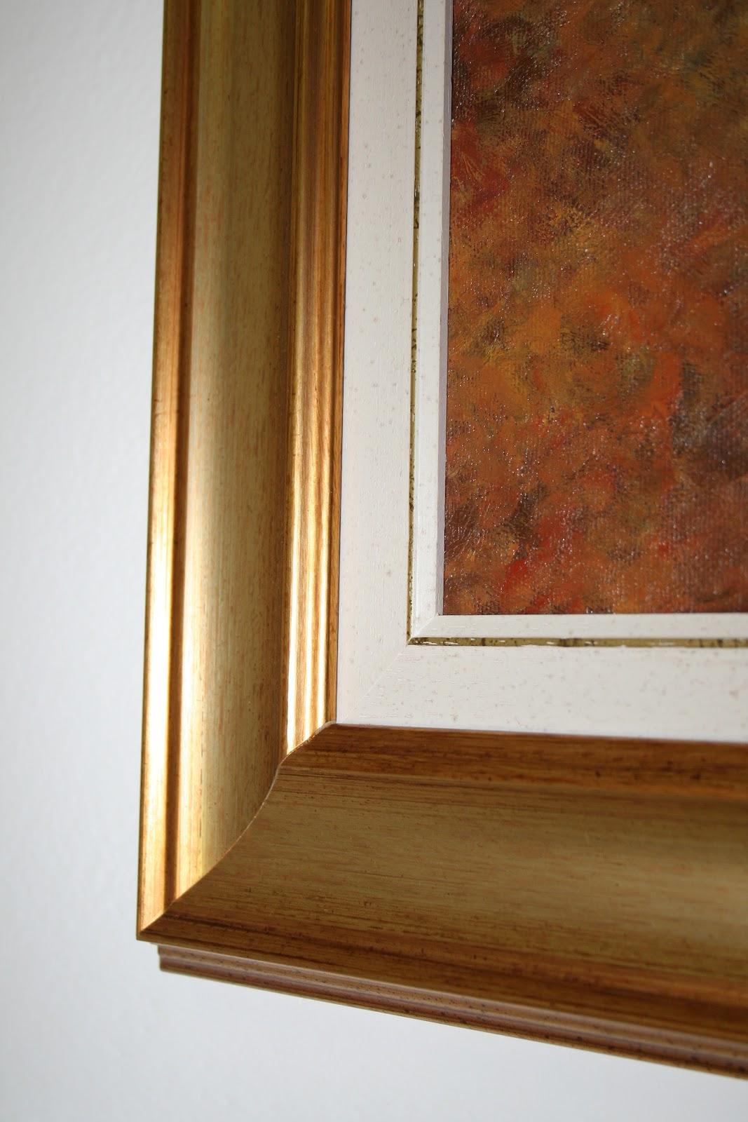 Caratteri mobili cornice in foglia oro - Cornice dei mobili ...