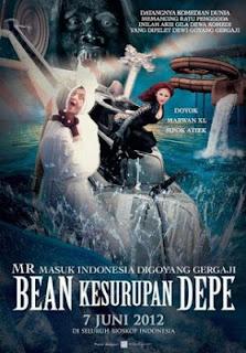 Mr.Bean kesurupan Dewi persik